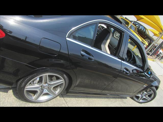 2008 MERCEDES-BENZ C63 AMG W204 4D SEDAN