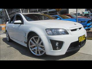 2007 HOLDEN SPECIAL VEHICLE CLUBSPORT R8 E SERIES 4D SEDAN