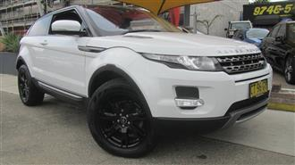 2013 LAND ROVER RANGE ROVER EVOQUE SD4 PURE LV 3D COUPE