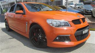 2013 HOLDEN SPECIAL VEHICLE CLUBSPORT  GEN F 4D SEDAN