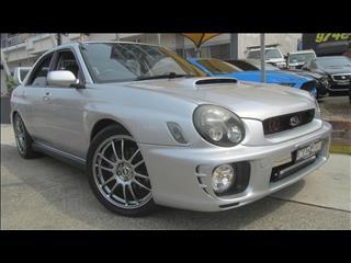 2001 SUBARU IMPREZA WRX AWD MY02 4D SEDAN