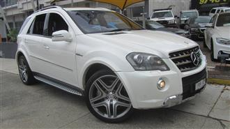 2011 MERCEDES-BENZ ML 63 AMG 4X4 164 MY11 4D WAGON