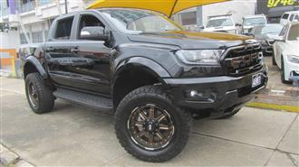 2018 FORD RANGER RAPTOR 2.0 4X4 PX MKIII MY19 DOUBLE CAB PUP