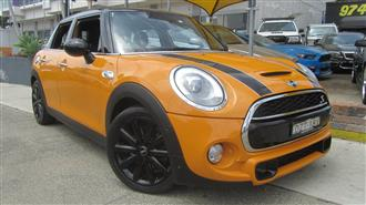 2015 MINI COOPER S F55 5D HATCHBACK