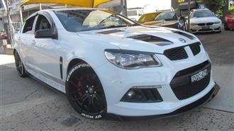 2014 HOLDEN SPECIAL VEHICLE CLUBSPORT R8 GEN F 4D SEDAN