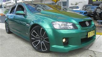 2010 HOLDEN COMMODORE SS-V VE MY10 4D SEDAN