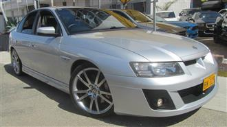 2005 HOLDEN SPECIAL VEHICLE CLUBSPORT R8 Z SERIES 4D SEDAN