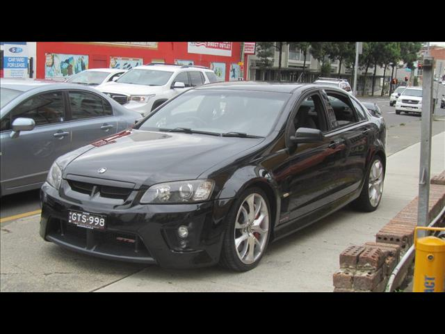 2009 HOLDEN SPECIAL VEHICLE GTS  E SERIES MY08 UPGRADE 4D SEDAN
