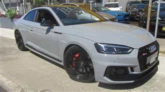 2017 AUDI RS5 2.9 TFSI QUATTRO F5 MY18 2D COUPE
