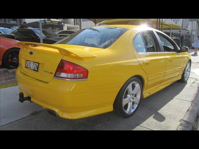 2005 FORD FALCON XR8 BA MKII 4D SEDAN