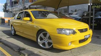 2005 FORD FALCON XR8 BA MKII 4D SEDAN