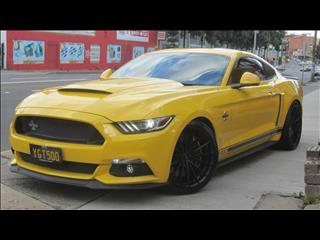 2016 FORD MUSTANG FASTBACK GT 5.0 V8 FM MY17 2D COUPE