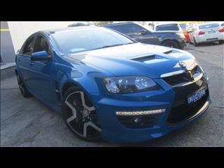 2012 HOLDEN SPECIAL VEHICLE GTS  E3 MY12 4D SEDAN