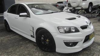 2010 HOLDEN SPECIAL VEHICLE CLUBSPORT GXP E2 SERIES 4D SEDAN