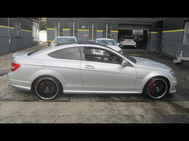2013 MERCEDES-BENZ C63 AMG W204 MY13 2D COUPE
