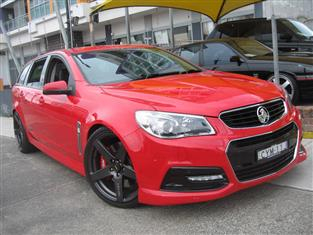 2013 HOLDEN COMMODORE SS VF 4D SPORTWAGON