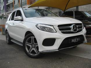 2016 MERCEDES-BENZ GLE 250 D 166 4D WAGON
