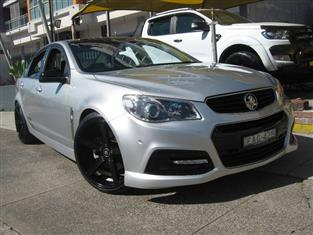 2014 HOLDEN COMMODORE SS VF 4D SEDAN