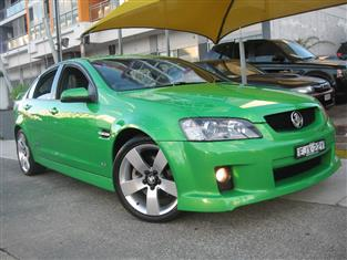 2008 HOLDEN COMMODORE SS-V VE MY08 4D SEDAN