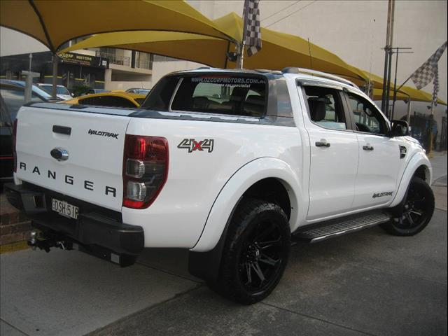 2017 FORD RANGER WILDTRAK 3.2 4X4 PX MKII MY18 DUAL CAB PUP