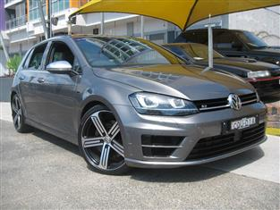 2014 VOLKSWAGEN GOLF R AU MY14 5D HATCHBACK