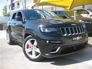 2015 JEEP GRAND CHEROKEE SRT 8 4X4 WK MY15 4D WAGON