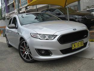 2016 FORD FALCON XR6T FG X 4D SEDAN