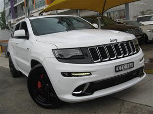 2016 JEEP GRAND CHEROKEE SRT 8 4X4 WK MY15 4D WAGON