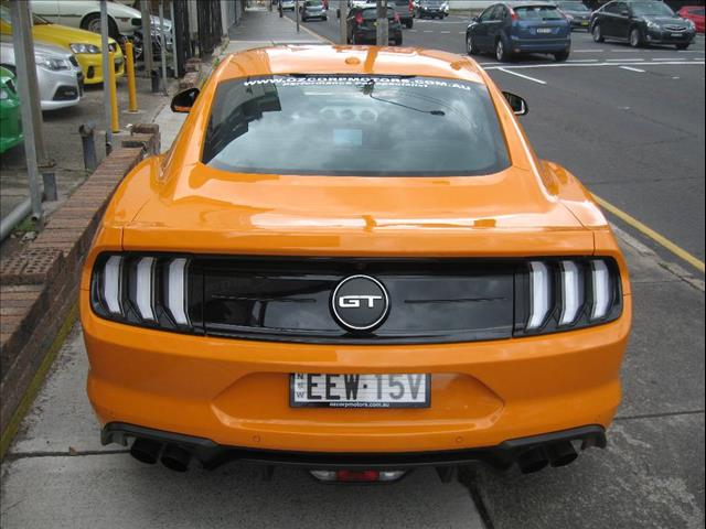 2018 FORD MUSTANG FASTBACK GT 5.0 V8 FN 2D COUPE