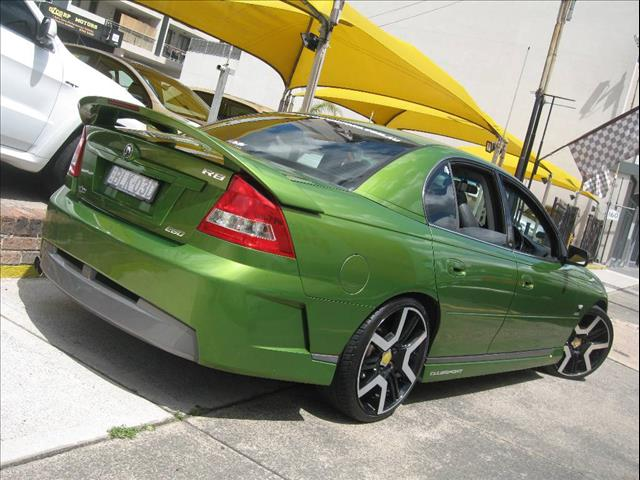 2002 HOLDEN SPECIAL VEHICLE CLUBSPORT R8 Y-SERIES 4D SEDAN