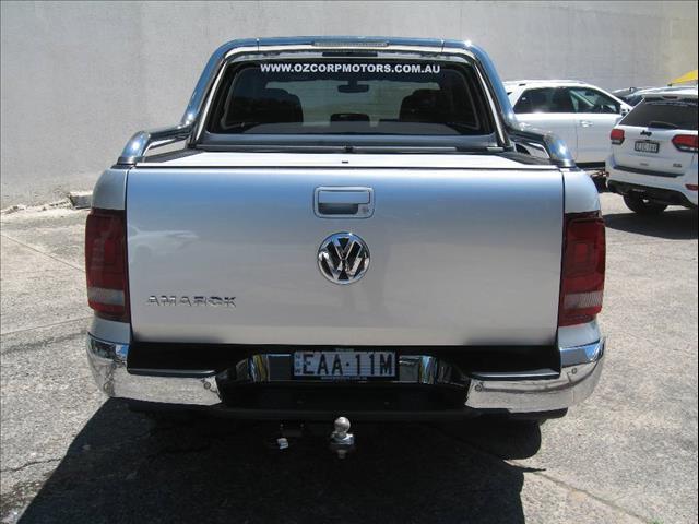 2018 VOLKSWAGEN AMAROK V6 TDI 580 ULTIMATE 2H MY19 DUAL CAB UTILITY