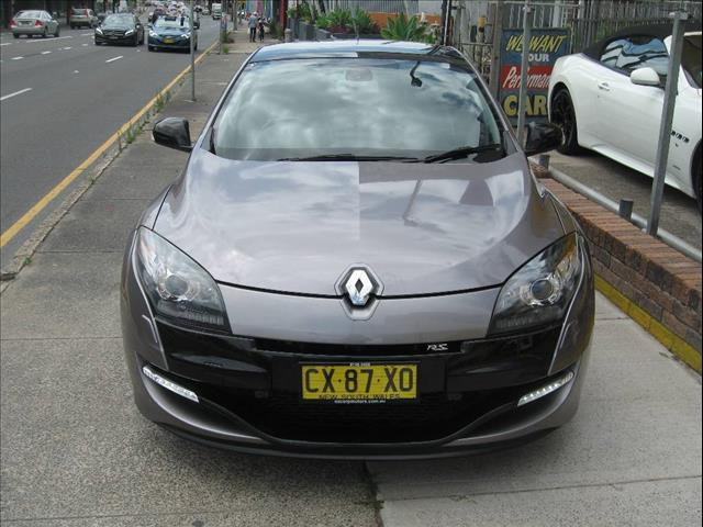 2013 RENAULT MEGANE RS 265 CUP X95 3D COUPE