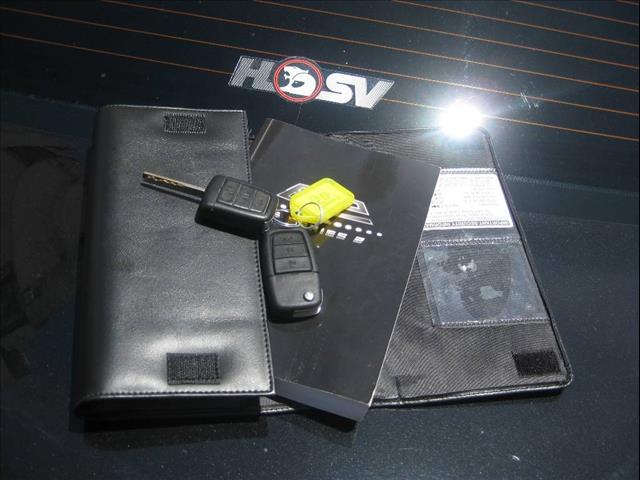 2009 HOLDEN SPECIAL VEHICLE CLUBSPORT R8 E2 SERIES 4D SEDAN