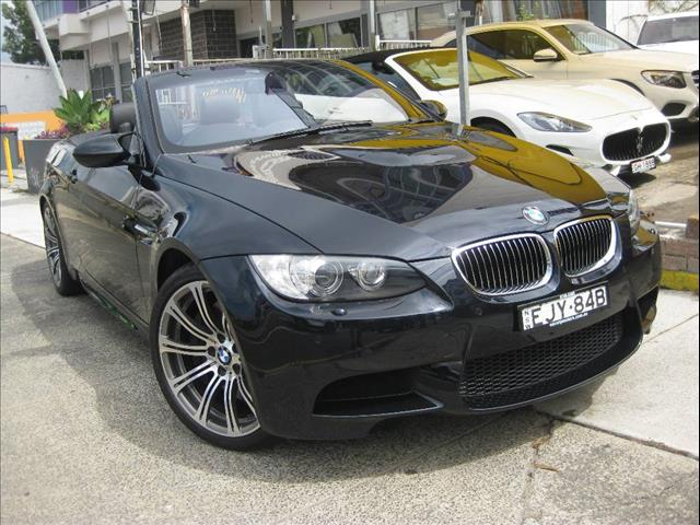 2008 BMW M3  E93 2D CONVERTIBLE