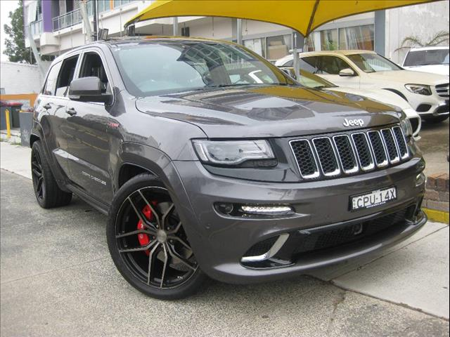 2013 JEEP GRAND CHEROKEE SRT 8 4X4 WK MY14 4D WAGON