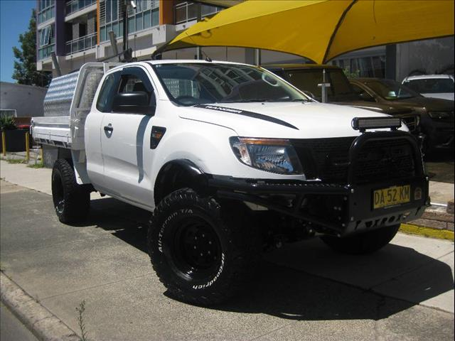 2011 FORD RANGER XL 3.2 4X4 PX SUPER CAB CHASSIS
