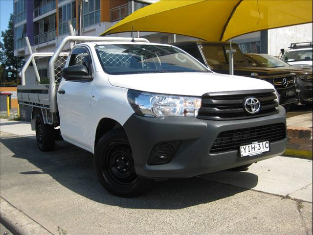 2018 TOYOTA HILUX WORKMATE GUN122R MY19 CCHAS