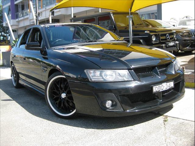 2006 HOLDEN SPECIAL VEHICLE CLUBSPORT  Z SERIES 4D SEDAN