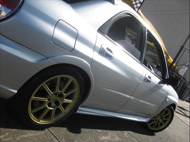 2007 SUBARU IMPREZA WRX STI MY07 4D SEDAN