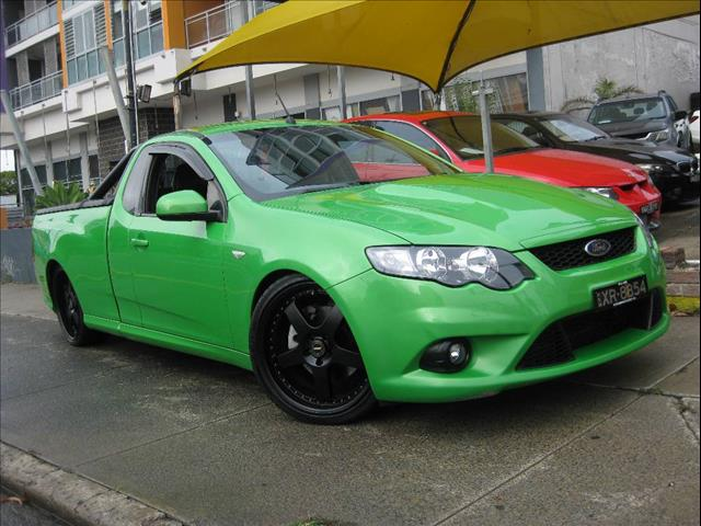 2009 FORD FALCON XR8 FG UTILITY