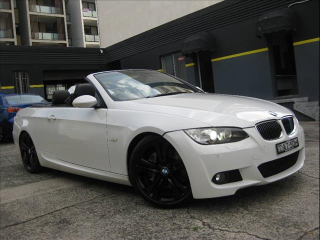2008 BMW 335I 35I E93 MY09 2D CONVERTIBLE