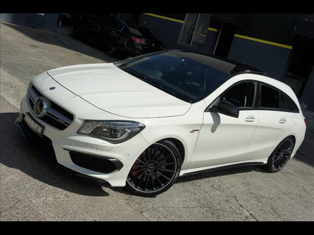 2016 MERCEDES-BENZ CLA 45 AMG 117 MY15 4D COUPE
