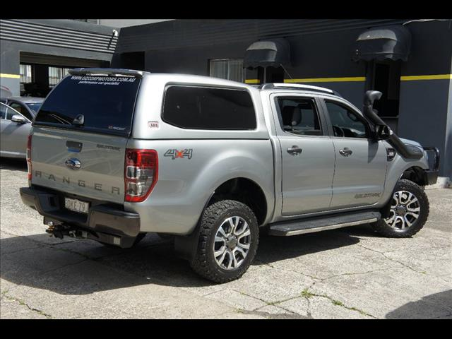 2016 FORD RANGER WILDTRAK 3.2 4X4 PX MKII MY17 DUAL CAB PUP