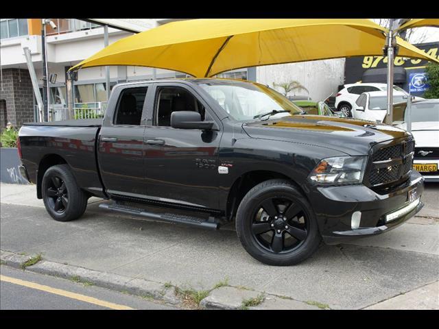 2019 RAM 1500 EXPRESS 4X4 BLACK PACK MY19 QUAD CAB UTILITY