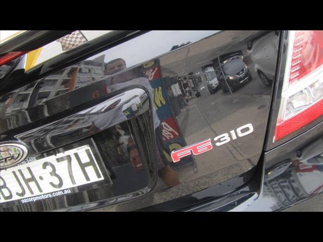 2008 FPV F6  FG 4D SEDAN