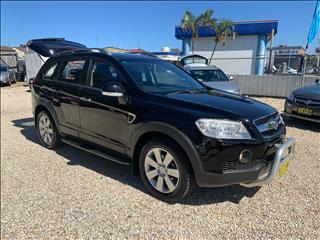 2007 HOLDEN CAPTIVA LX (4x4) CG MY08 4D WAGON
