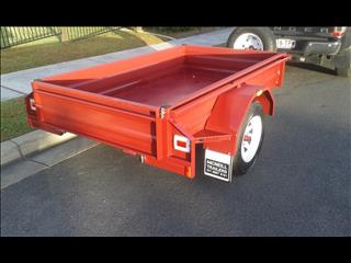 new 2017 mcneill 7*4 box trailer