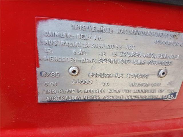 Mercedes 2228s Prime Mover