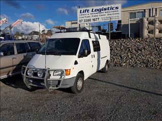 2000 FORD TRANSIT LOW (SWB) VG VAN