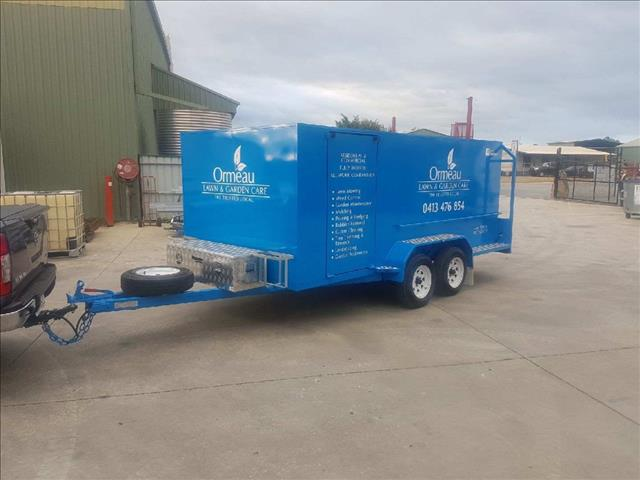 New Mcneill mowing trailer